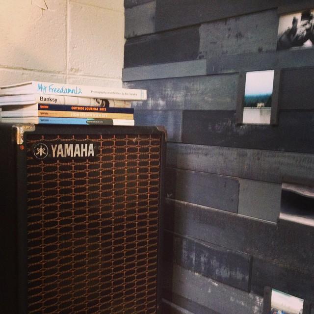 YAMAHAのスピーカーは74年製。