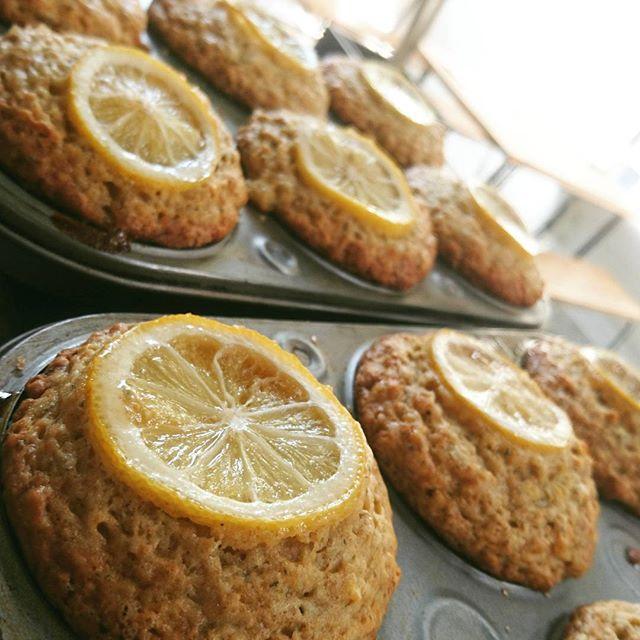 人気のレモミールマフィン、焼き上がりました◎ #スゥレッドカフェ #スゥレッドカフェ定番スイーツ